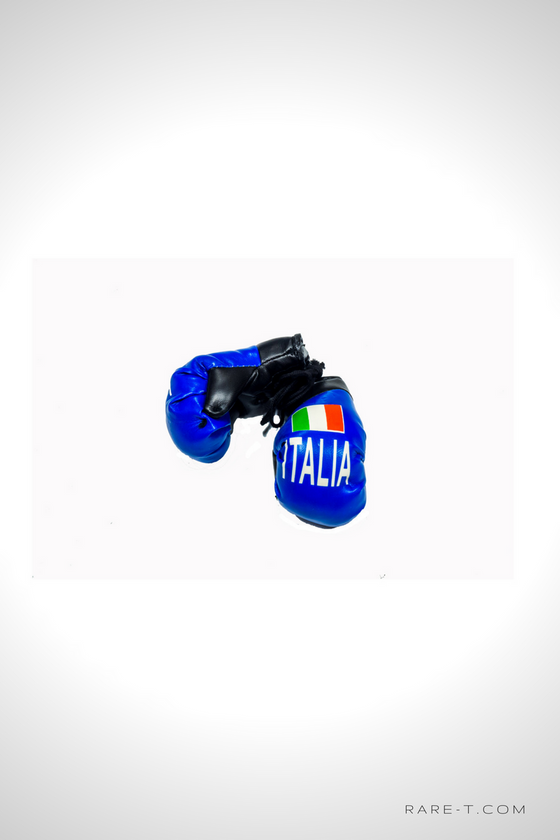 'ITALY' Mini Boxing Gloves