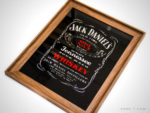 RARE-T | Vintage JACK DANIEL'S-OLD NO.7 Whiskey Bar Mirror image