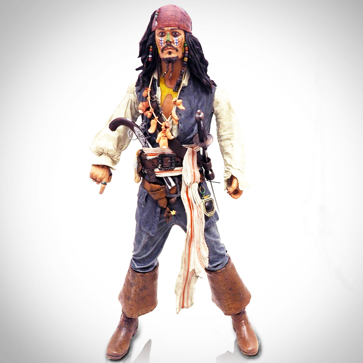 'PIRATES OF THE CARIBBEAN - CAPTAIN JACK SPARROW' 18' Statue