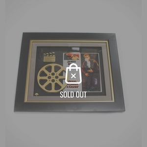 Rare-T Exclusive Limited Edition 'James Dean - Rebel Without A Cause - Movie Reel' Custom Frame