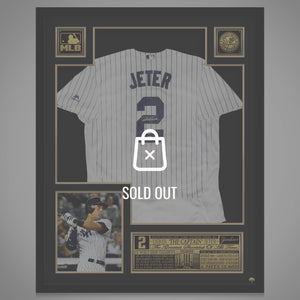 Derek Jeter - New York Yankees Hand Signed Baseball Jersey