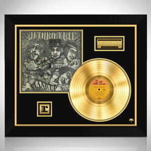Jethro Tull Stand Up Limited Signature Edition Studio Licensed Gold LP Custom Frame