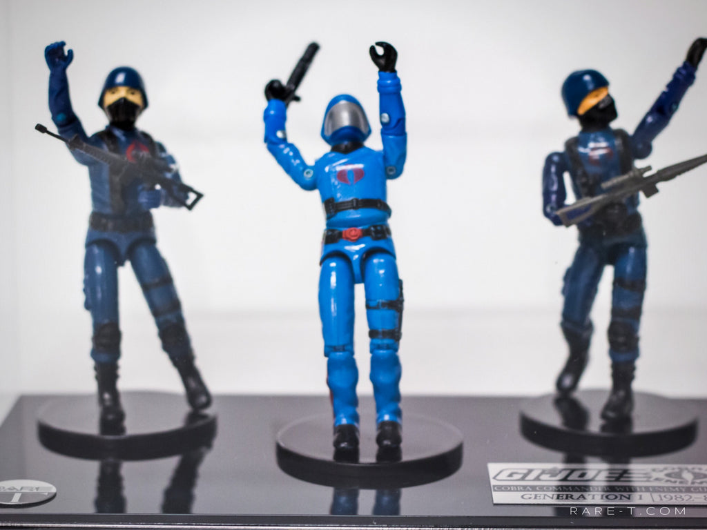 RARE-T Exclusive | 1982-82 GI JOE Cobra Commander Museum Display