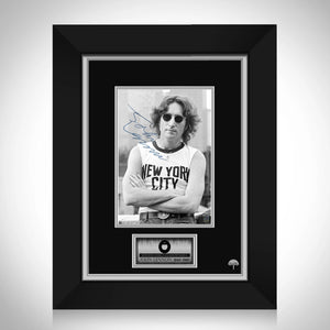 John Lennon Limited Signature Edition Studio Licensed Photo Custom Frame