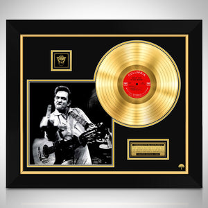 Johnny Cash 'At San Quentin' Limited Collectors' Edition Studio Licensed Gold Lp Custom Frame