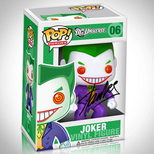 Joker- Dc Old School Hand-Signed Funko Pop #06 By Stan Lee