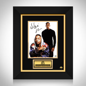 Kendrick Lamar & Dr. Dre Limited Signature Edition Studio Licensed Photo Custom Frame