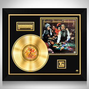 Kenny Rogers The Gambler Limited Signature Edition Studio Licensed Gold LP Custom Frame