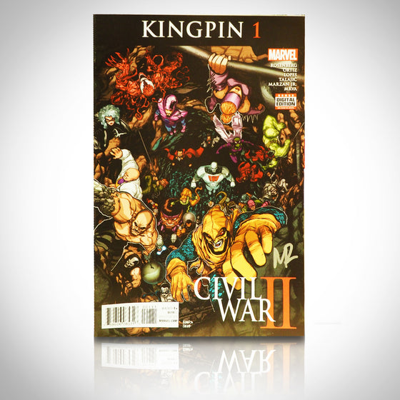 'CIVIL WAR II KINGPIN #1 - HANDSIGNED BY MATTHEW ROSENBERG' Comic Book