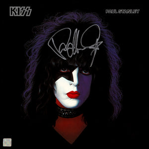 KISS - Paul Stanley Limited Signature Edition Studio Licensed Gold LP Custom Frame