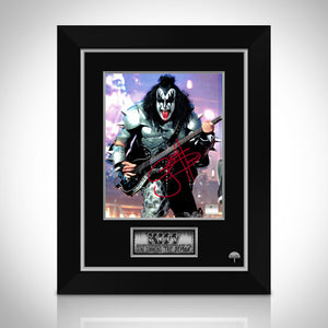 Kiss- Gene Simmons 'The Demon' Hand-Signed Photo by Gene Simmons