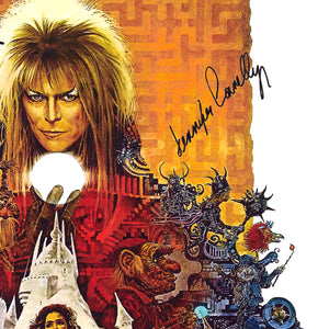 Labyrinth Movie Script Limited Signature Edition Studio Licensed Custom Frame