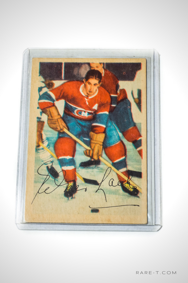1953 Hockey Card 'PARKHURST - ELMER LACH'
