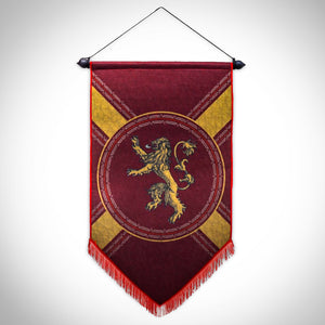 Game Of Thrones - Lannister Felt Banner