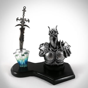 World Of Warcraft Knight Paper Weight & Sword Letter Opener
