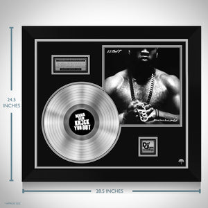 Ll Cool J 'Mama Said Knock You Out' Limited Collectors' Edition Licensed Platinum LP Custom Frame