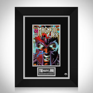 Magneto Rex #1 - Stan Lee Limited Signature Edition Comic Book Cover Art Custom Frame