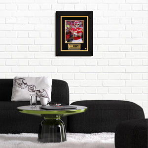 Patrick Mahomes Kansas City Chiefs Limited Signature Edition Studio Licensed Photo Custom Frame