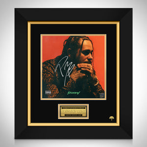 Post Malone - Stoney Limited Signature Edition Studio Licensed LP Cover Custom Frame