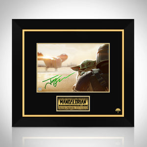 Star Wars- The Mandalorian Photo Limited Signature Edition Studio Licensed Custom Frame