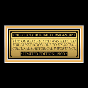 Martin Luther King Jr I Have a Dream Gold LP Limited Signature Edition Studio Licensed Custom Frame