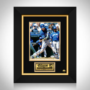 Toronto Blue Jays- Hand-Signed JSA Authenticated Photo By #55 Russel 'Le Muscle' Martin Custom Frame