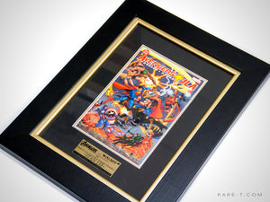 RARE-T Exclusive | #2 AVENGERS VS JUSTICE LEAGUE COMIC BOOK - Stan Lee