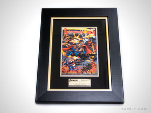 RARE-T Exclusive | #2 AVENGERS VS JUSTICE LEAGUE COMIC BOOK - Stan Lee autgraphed
