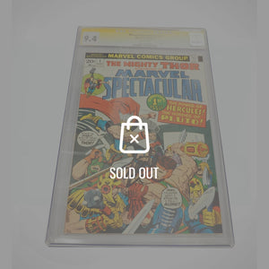 Cgc Signature Edition 'Marvel Spectacular #1 -9.4 Handsigned By Stan Lee'
