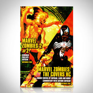 Marvel Zombies Spotlight (2007) #1 -Hand-Signed Comic Book By Arthur Suydam & Stan Lee Custom Frame