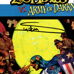 Marvel Zombies vs Army Of Darkness #1 2nd Print- Hand-Signed by Comic Book by Arthur Suydam Frame