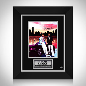 Miami Vice - Don Johnson & Philip Michael Thomas Limited Signature Edition Licensed Photo Custom Frame