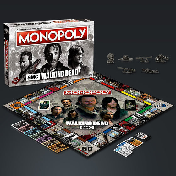 THE WALKING DEAD- Limited Premium Collector's Edition Monopoly Game