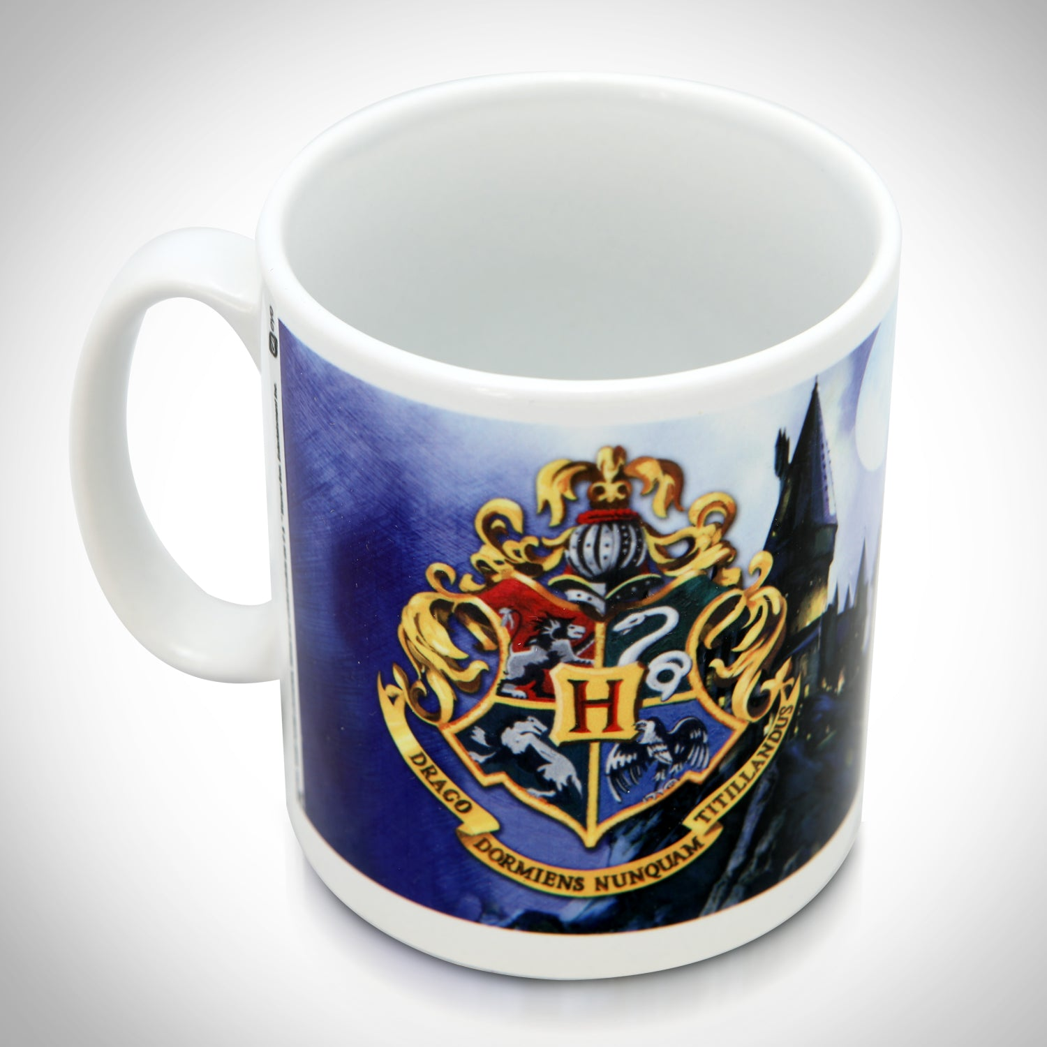 Harry Potter Hogwarts Crest Mug Coffee Cup Hogwarts Official Draco Do Rare T