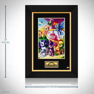 My Little Pony- Hand-Signed Artwork Print By Artist Kevin Yan Custom Frame