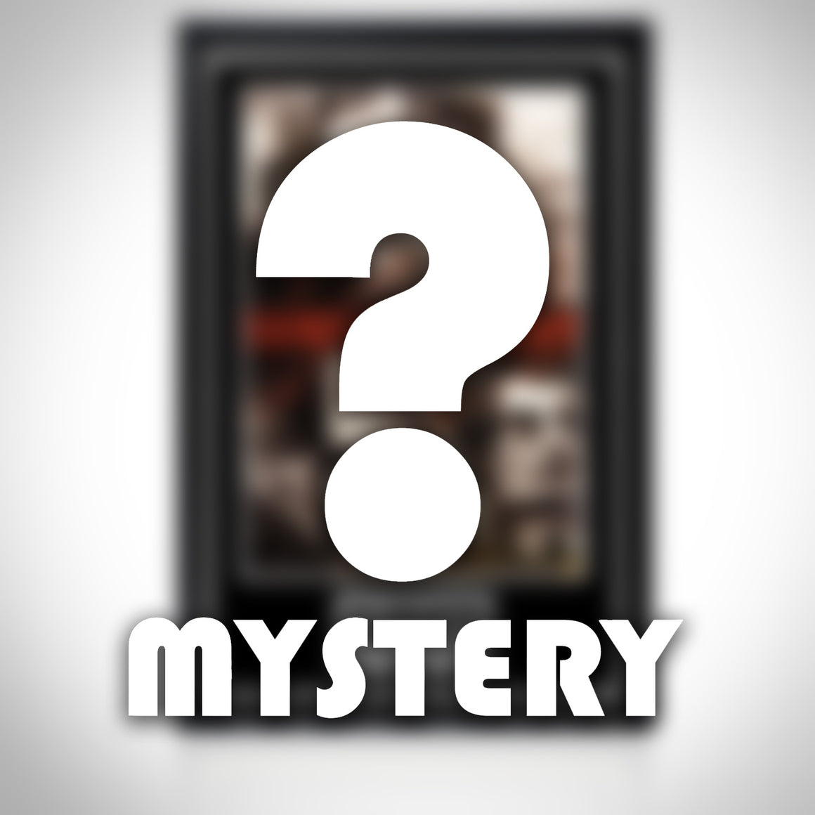 Mystery- Hand-Signed Mystery Sports Poster Custom Frame