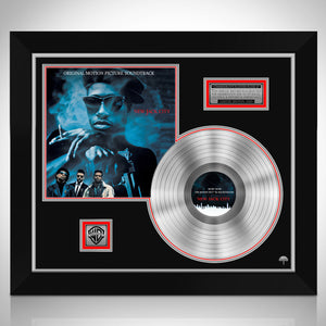 New Jack City 'Soundtrack' Limited Collectors' Edition Studio Licensed Platinum Lp Custom Frame