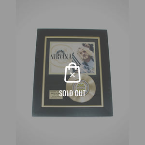 Rare-T Exclusive Limited Edition Gold 45 'Nirvana' Custom Frame