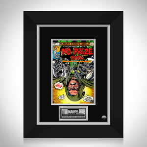 No Prize Book #1 Stan Lee Limited Signature Edition Comic Book Cover Art Custom Frame