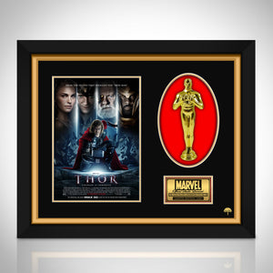 Thor Limited Edition Licensed 24k Gold Plated Oscar Custom Frame (B)