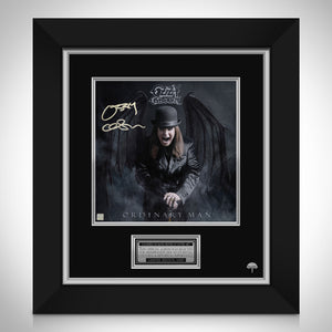 Ozzy Osbourne Ordinary Man Limited Signature Edition Studio Licensed LP Cover Custom Frame