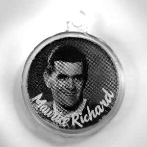 Maurice Richard & Sid Smith Double Sided Vintage 1950's Canadian Hockey Legends Charm Pendant