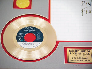 RARE-T Exclusive | 'PINK FLOYD - ANOTHER BRICK IN THE WALL' GOLD 45