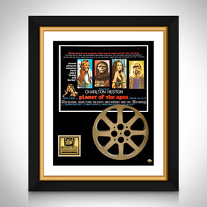 Planet Of The Apes - Exclusive Limited Edition Movie Reel Prop & Mini Poster Custom Frame
