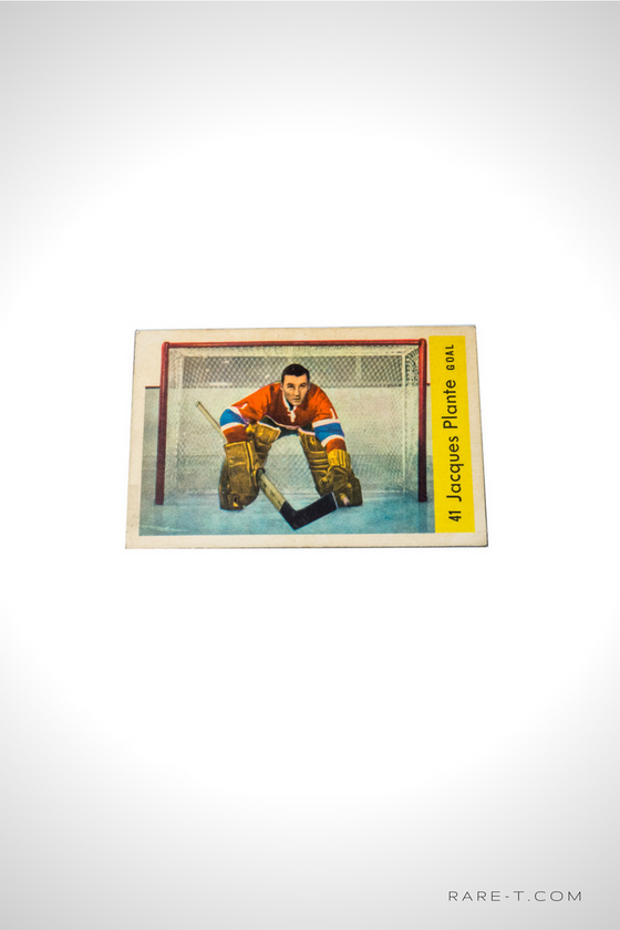 1959 Hockey Card 'PARKHURST - JACQUES PLANTE'