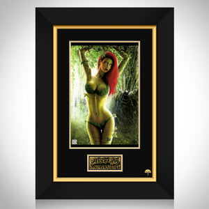 Poison Ivy- Hand-Signed Artwork Print By Artist Nathan Szerdy Custom Frame