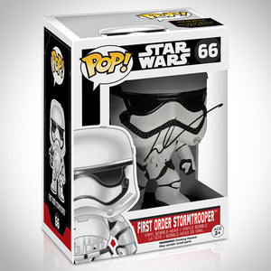 Star Wars - Hand-Signed First Order Stormtrooper Funko Pop By George Lucas