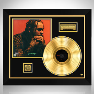 Post Malone - Stoney Gold LP Limited Collector Edition Studio Licensed Custom Frame
