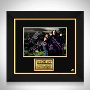 Harry Potter Trio and Snape Photo Limited Signature Edition Studio Licensed Custom Frame