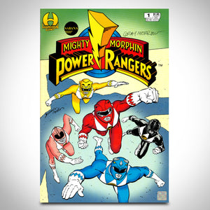 Mighty Morphin Power Rangers #1 - Hand-Signed Comic Book By Gray Morrow' Comic Book